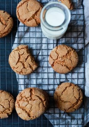 Soft & Chewy Ginger Cookies-7