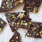 3-Ingredient Salted Pistachio Chocolate  Bark