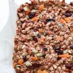 Image of No Bake Pumpkin Spice Granola Bars