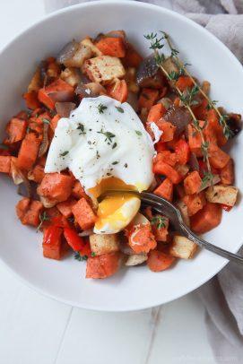 Easy Sweet Potato Hash with Eggs - web-6