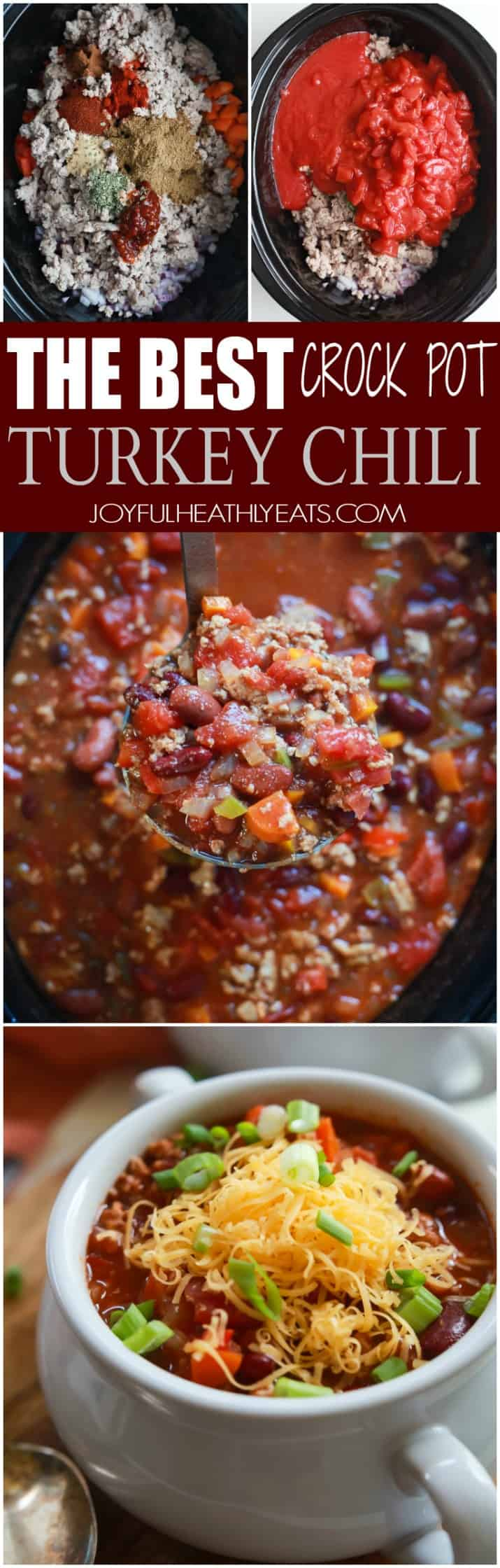 The BEST Crock Pot Chili Recipe