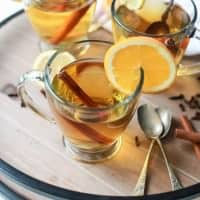This Crock Pot Apple Cider is the perfect drink to have in your hand this holiday season. It's easy, delicious, comforting, and makes your house smell amazing! | joyfulhealthyeats.com