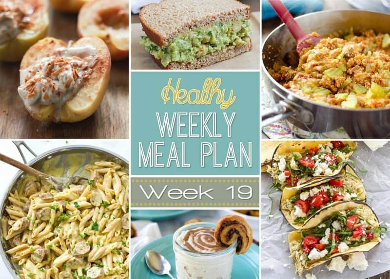 healthy meal plan week 19 easy healthy recipes