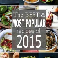The BEST & Most Popular Recipes of 2015