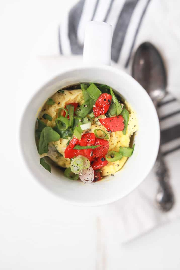 A Great Breakfast Recipe For A Healthy New Year 2 Minute Egg Omelet In A