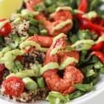 Blackened Shrimp Quinoa Bowl with Avocado Crema - web-9