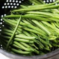 You are just 15 minutes and 5 ingredients from these Healthy Skillet Green Beans! An easy one pot recipe with fresh lemon, red pepper flakes and garlic. | joyfulhealthyeats.com #glutenfree #paleo Easy Dinner Recipes