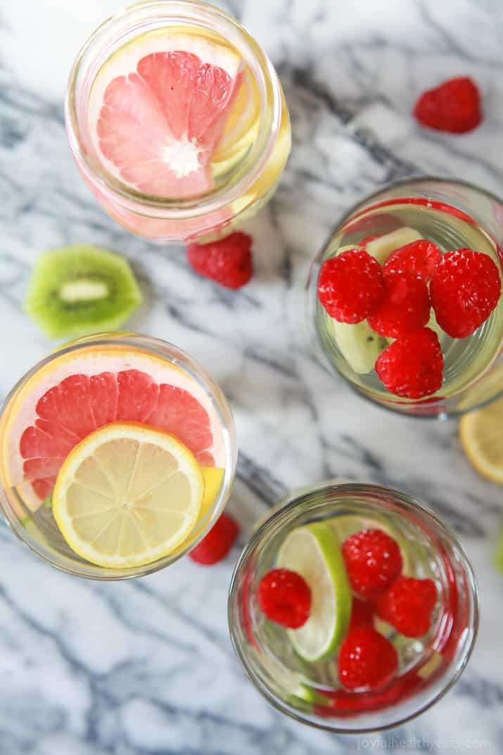 fruit infused water how is fruit healthy