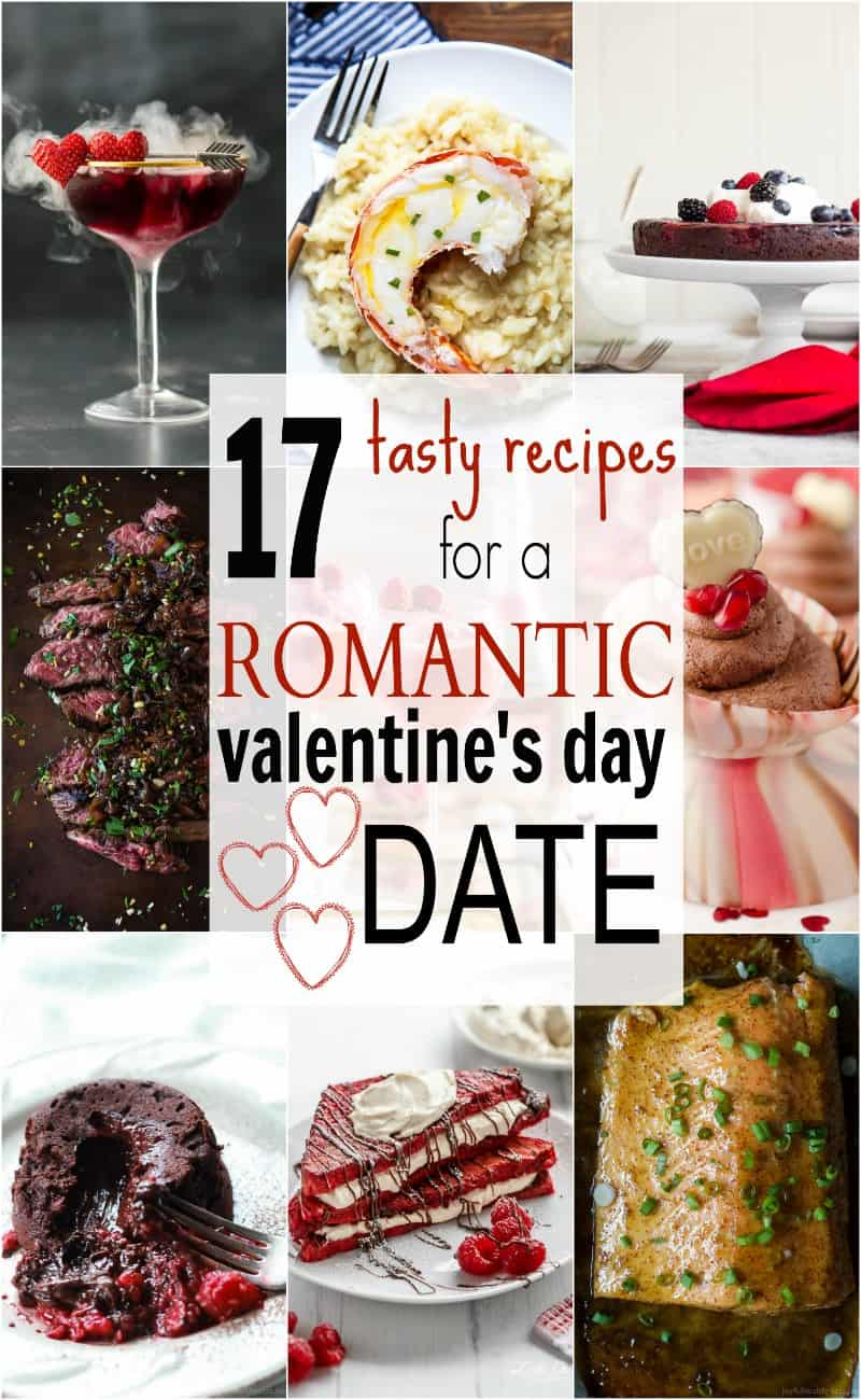 17 tasty recipes for romantic valentines day date easy healthy a roundup of 17 easy tasty recipes to help create a romantic valentines day date forumfinder Gallery
