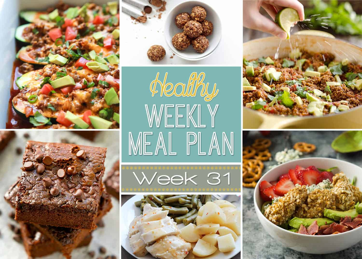 Healthy Make-Ahead Lunch Meal Plan for the Work Week By: Victoria Seaver, M.S., R.D., C.D., Digital Meal Plan Editor With some light prep at the beginning of the week, healthy lunches come together easily for 5 days of packable meals.