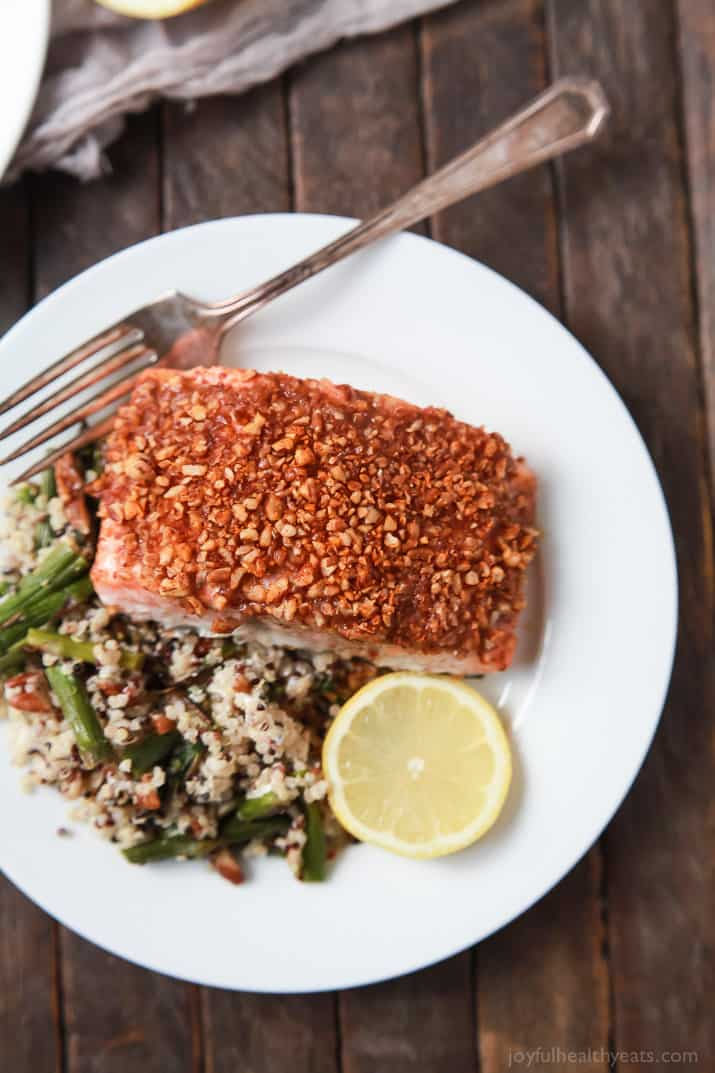 Honey mustard pecan crusted salmon easy healthy recipes using real impress your family or dinner guests with this easy honey mustard pecan crusted salmon recipe forumfinder