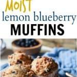 Healthy Lemon Blueberry Muffins Recipe | Healthy & Tasty Muffins Recipe