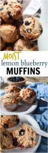 Healthy Lemon Blueberry Muffins Recipe | Healthy & Tasty Muffins Recipe