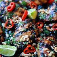 Spicy Thai Grilled Chicken