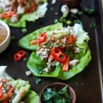 Thai Chicken Lettuce Wraps with Spicy Peanut Sauce -web-4