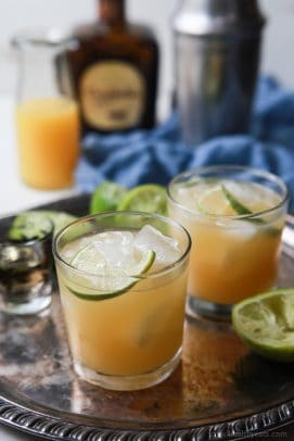Making the Ultimate Margarita Recipe is easier than you think, only 5 ingredients and you're in Margarita Heaven! It's a winner every time! | joyfulhealthyeats.com