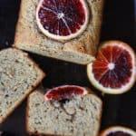Blood Orange Poppy Seed Bread