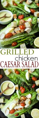 Grilled Chicken Caesar Salad Recipe | 15 Min Healthy Lunch Idea