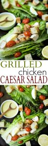 Grilled Chicken Caesar Salad Recipe | 15 Min Healthy Lunch Idea