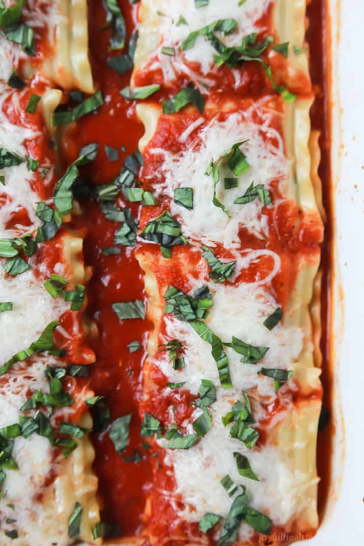spinach lasagna rolls easy healthy recipes using real
