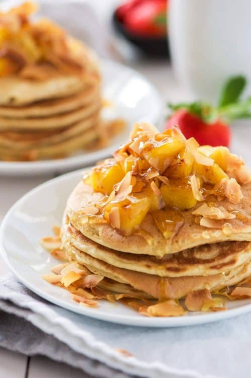 Honey-Pineapple-and-Toasted-Coconut-Pancakes-4