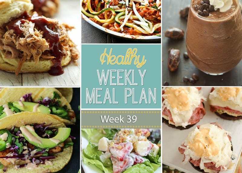 Nice Make Your Life Easier AND Healthier! This Healthy Meal Plan Has A Weeks  Worth Of