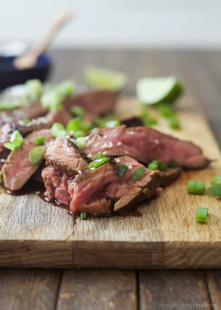 Asian Grilled Flank Steak Grilled Steak Recipe With Marinade