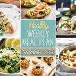 Healthy Meal Plan Week #43