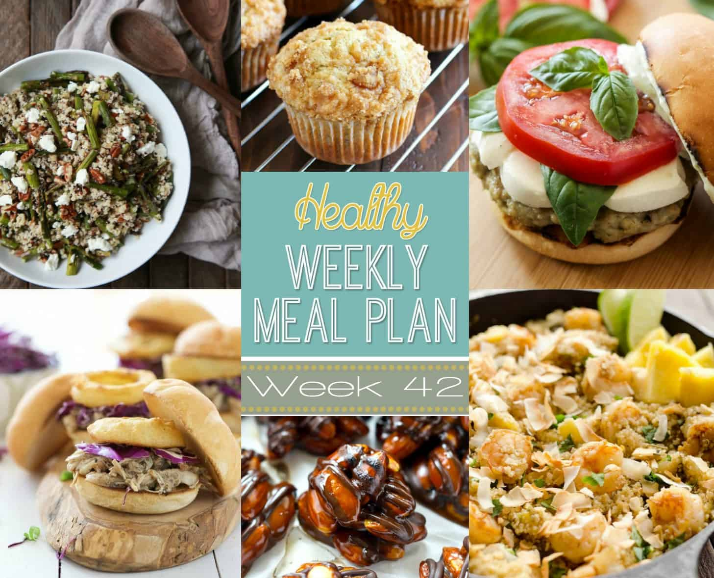 Make Your Life Easier AND Healthier! This Healthy Meal Plan Has A Weeks  Worth Of