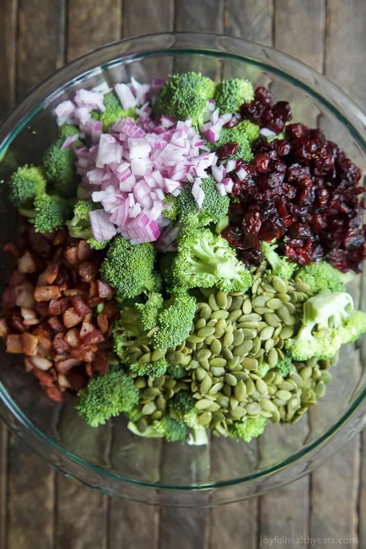 Lightened Up Broccoli Salad | Easy Dinner Recipes | Quick Easy Dinner ...