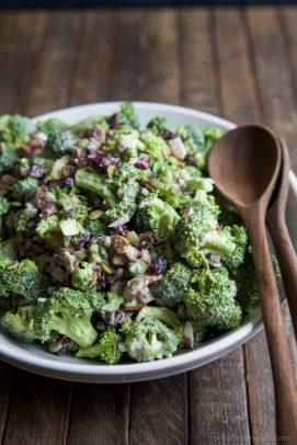 Image of Lightened up Broccoli Salad