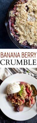 Banana Berry Crumble Recipe