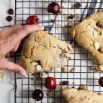 Almond Chocolate Cherry Scones