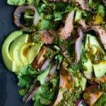 California Steak Salad with Chimichurri Dressing - web-6