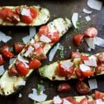 Grilled Zucchini with Tomato Basil Bruschetta - web-7