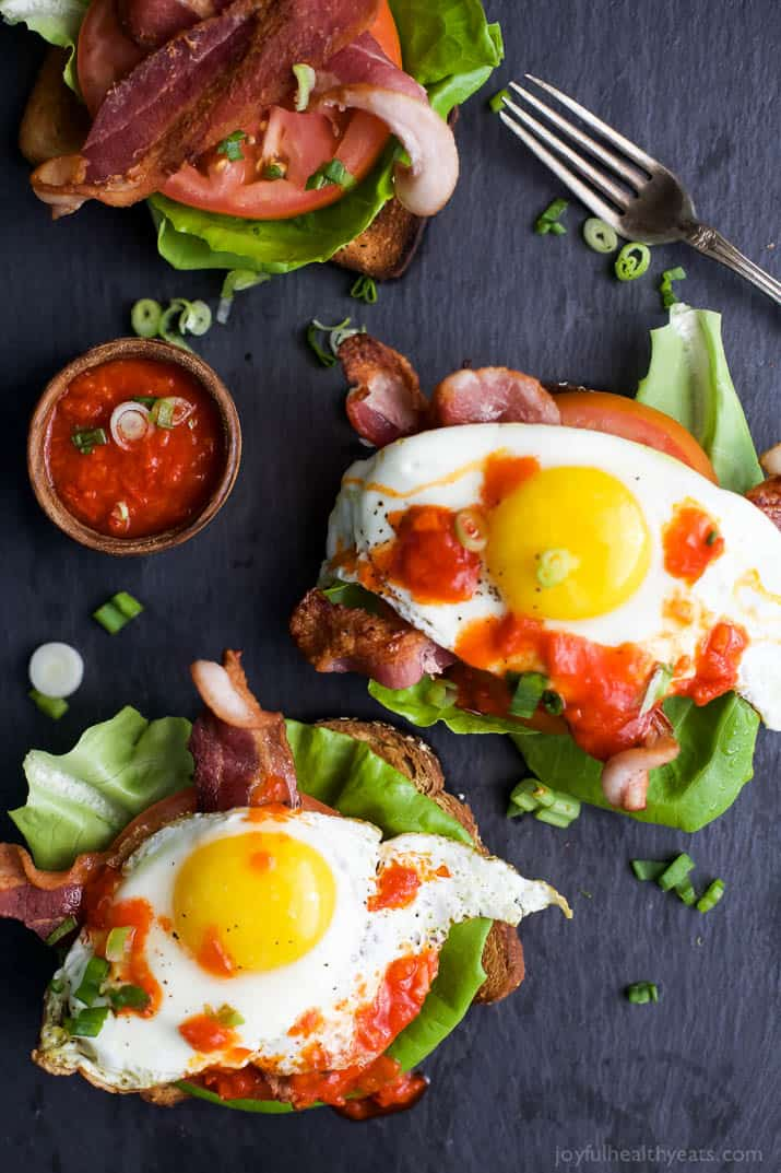 Open Faced BLT Sandwich with Harissa - web-2