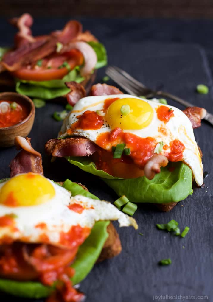 Open Faced BLT Sandwich with Harissa - web-4