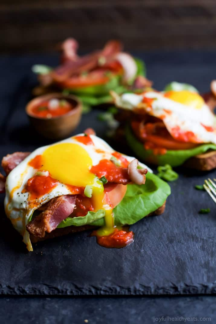 Open Faced BLT Sandwich with Harissa - web-5