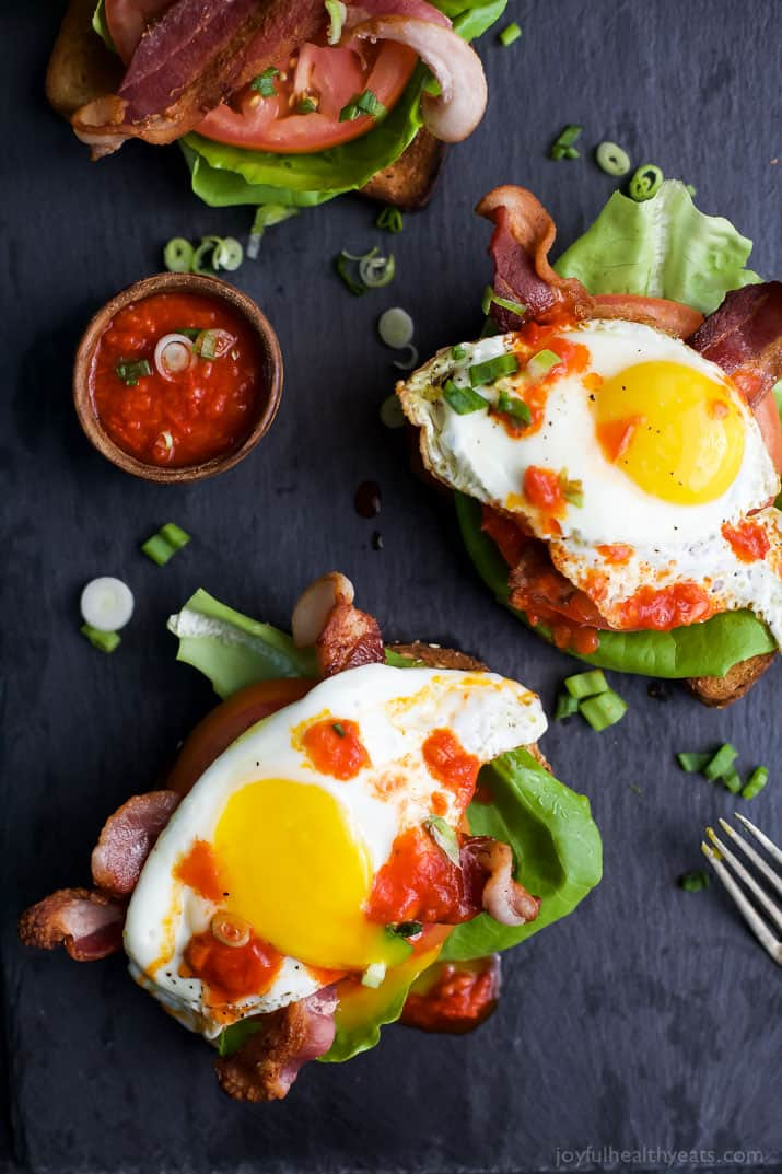 Open Faced BLT Sandwich with Harissa - web-6