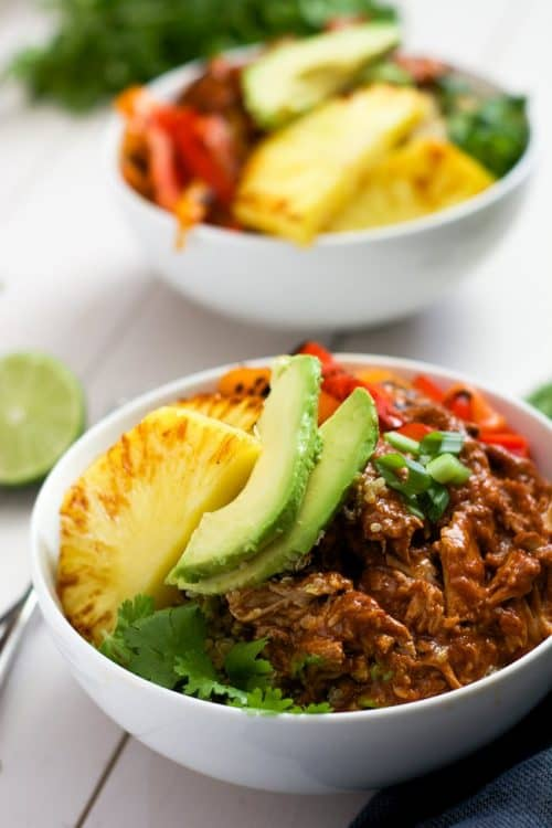 Slow-Cooker-Hawaiian-Pork-Burrito-Bowls-7