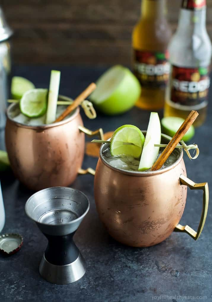 apple cider moscow mule easy healthy recipes. Black Bedroom Furniture Sets. Home Design Ideas