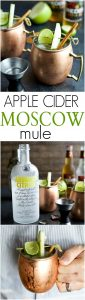 Apple Cider Moscow Mules | Easy Apple Cider Cocktail Recipe