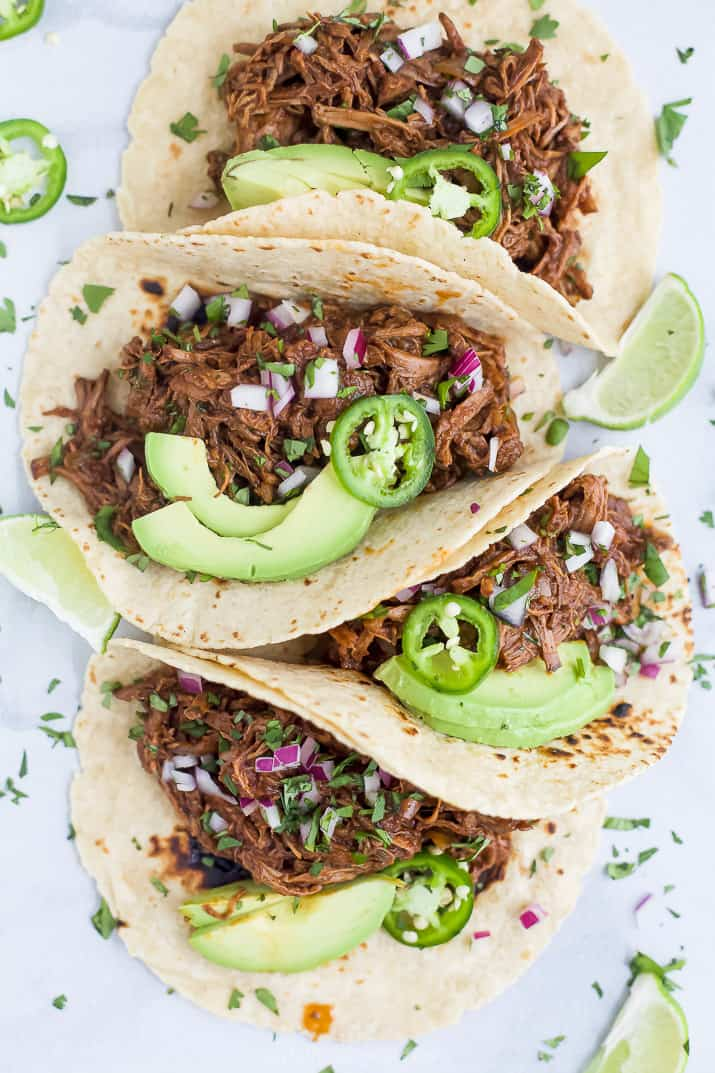 easy slow cooker barbacoa short rib tacos