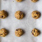 Pumpkin Chocolate Chip Cookie Energy Bites