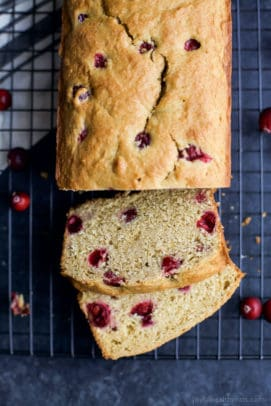 Image of Moist Orange Cranberry Bread