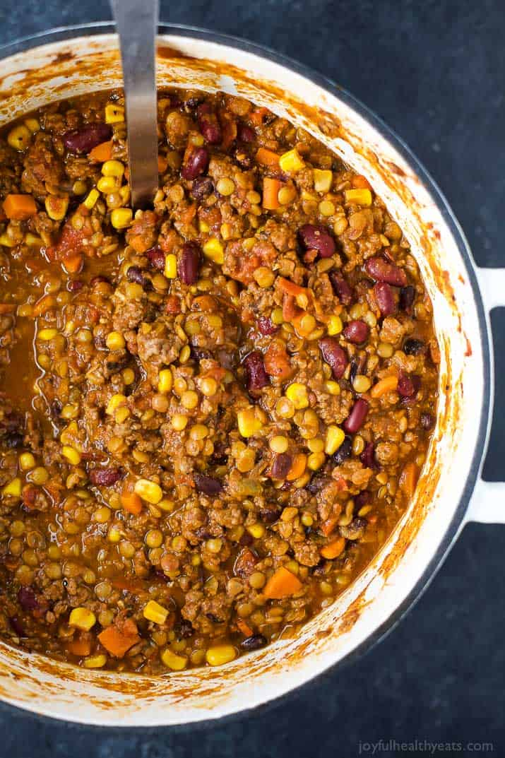 Smoky Lentil Chili | Easy Healthy Recipes Using Real ...