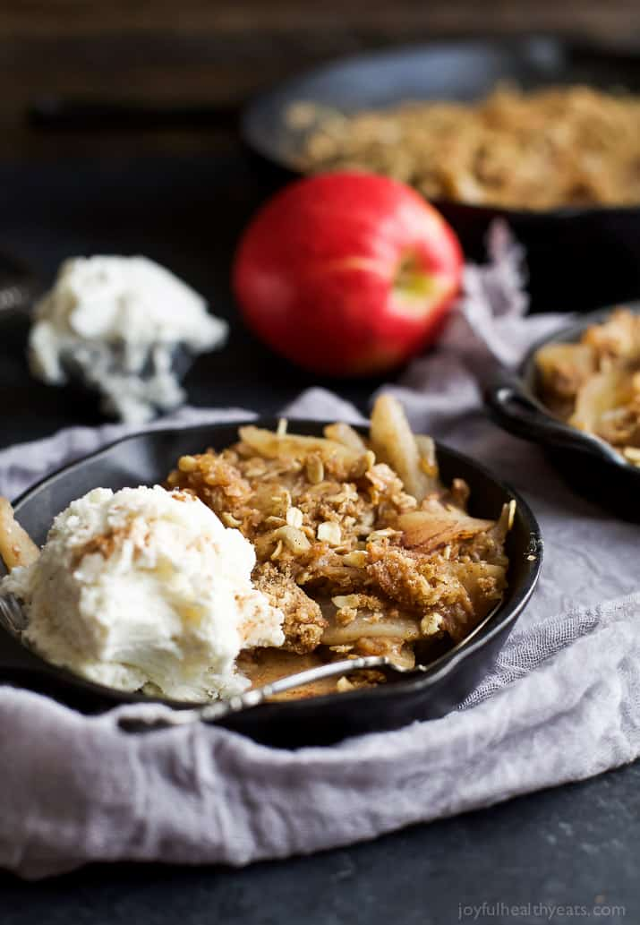 The good news is this Cinnamon Apple Pear Crisp doesn't take 2 hours ...