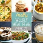 Healthy Meal Plan Week #71