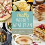 Healthy Meal Plan Week #70