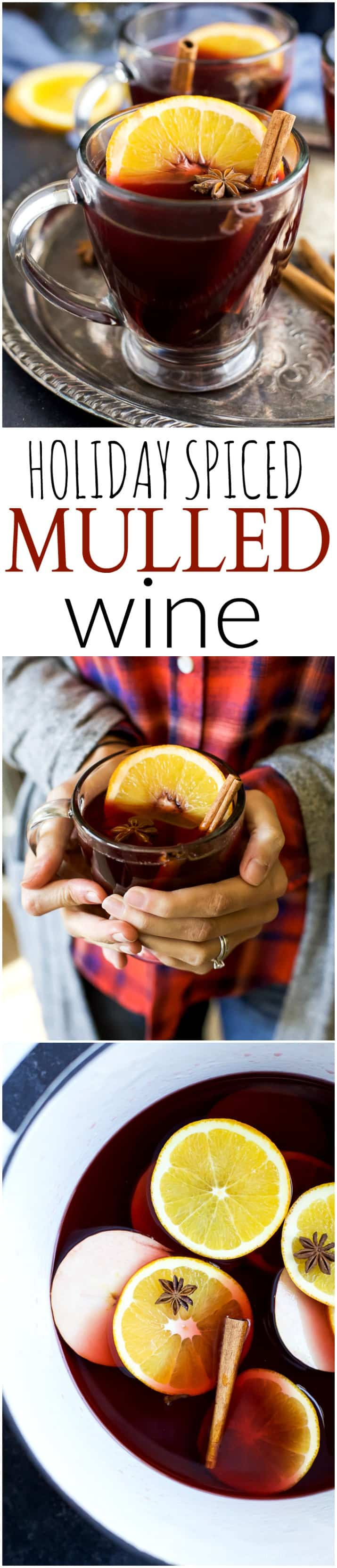 Holiday Spiced Mulled Wine Long